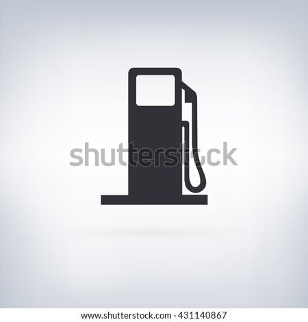 Gas Vector Icon - stock vector