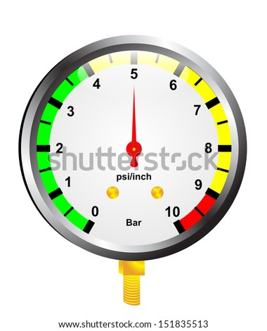 Air Pressure Gauge Stock Vectors & Vector Clip Art ...