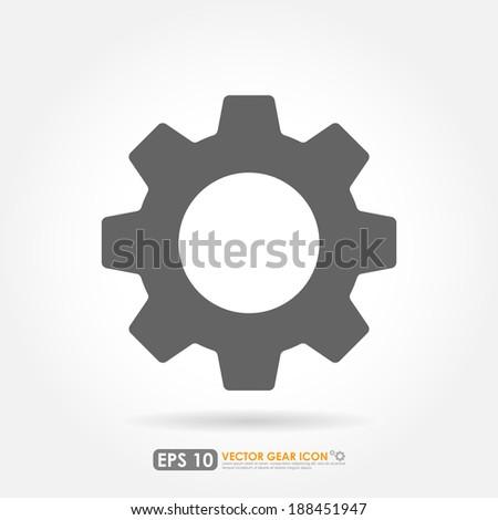 Gear or cog icon - stock vector