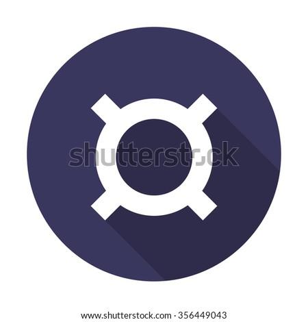 generic currency symbol. vector illustration - stock vector