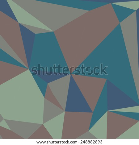 Geometric Abstract Background. Triangles. Millitary. Vector - stock vector