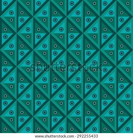 geometric abstract seamless pattern --vector illustration - stock vector