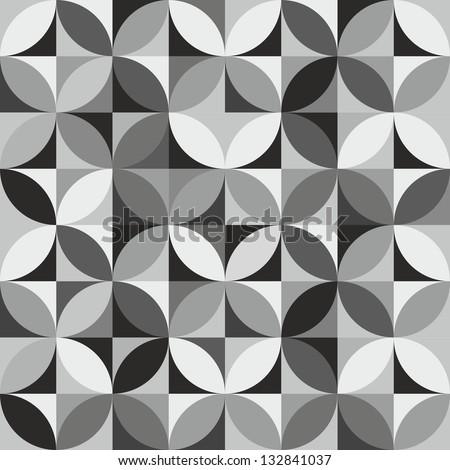 Geometric background - stock vector