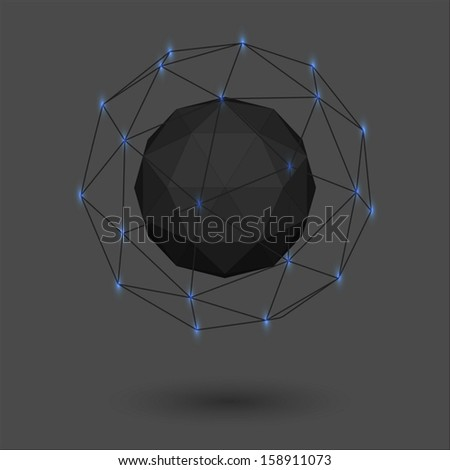 abstract geometric octagon shape - photo #5