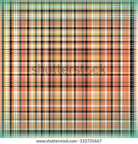 geometric background of colored lines - stock vector