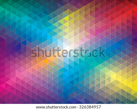 Geometric color pattern abstract background. - stock vector