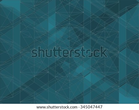Geometric Colorful Background Vector 174. Mosaic hipster background made of triangles and rectangles. Retro label design. Square composition with geometric shapes. Hipster theme label.  - stock vector