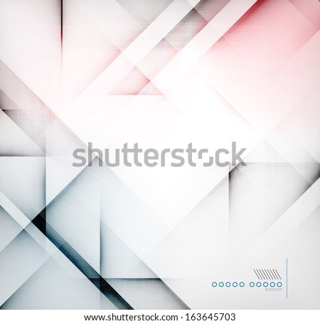 Geometric diamond shape abstract background - stock vector