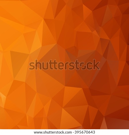 Geometric low poly graphic - stock vector