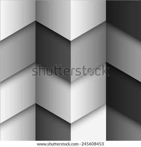 Geometric monochromatic structured background. Vector eps10 - stock vector
