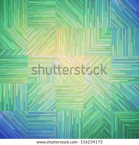 Geometric mosaic background, vector eps10 illustration - stock vector