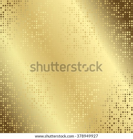 Geometric mosaic seamless pattern with colorful stars om white background - stock vector