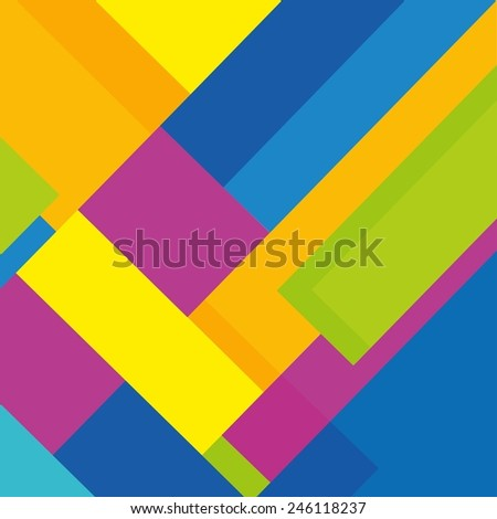Geometric Pattern. Abstract Background - stock vector