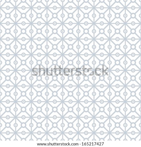 Geometric pattern, seamless background. Vector illustration. - stock vector