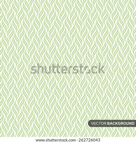 Geometric pattern. Seamless vector background. Green texture similar to leaves. - stock vector
