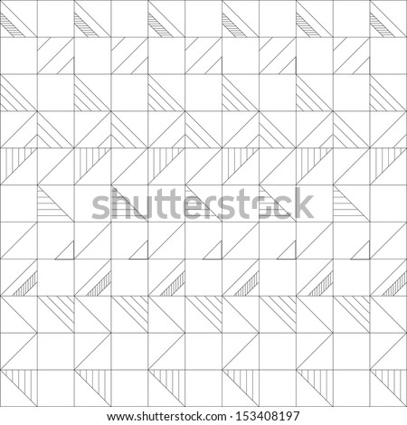geometric pattern vector - stock vector