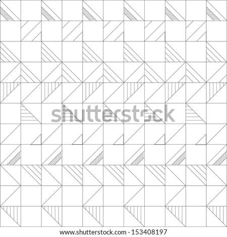 geometric pattern vector - stock vector