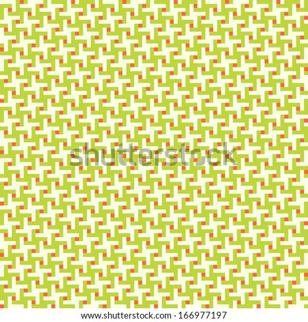 Geometric seamless pattern background - stock vector
