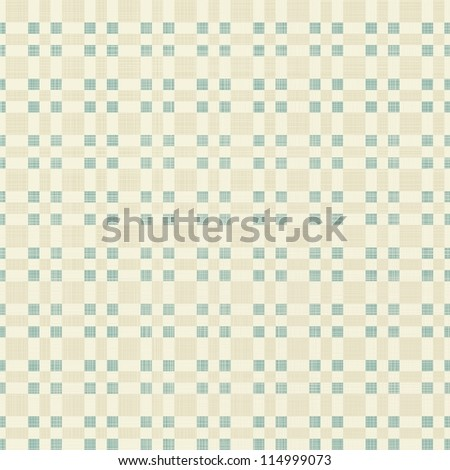 geometric seamless pattern in retro blue and grey - stock vector