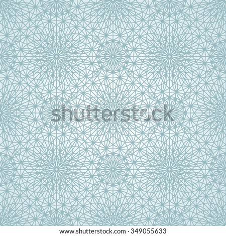 Geometric seamless pattern. Vector illustration. Pattern without gradient added to swatches panel - stock vector