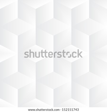 Geometric vector cubes background - stock vector