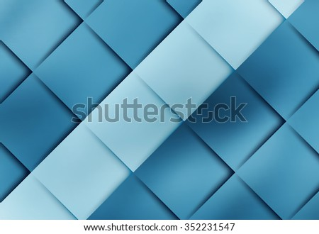 geometric vector layout with tiles and shadows. Eps10 - stock vector