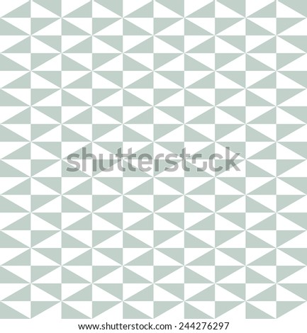 Geometric vector pattern with triangular blue and white elements. Seamless abstract texture for wallpapers and backgrounds - stock vector