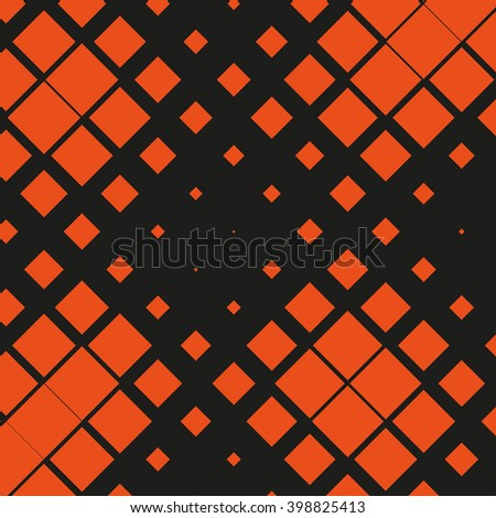 Geometrical pattern of squares. vector background. - stock vector