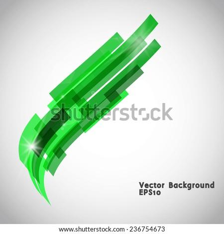 Geometry retro background. Vector illustration  - stock vector