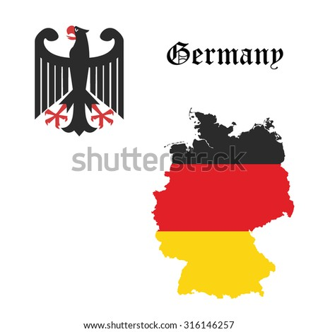 Germany concept vector illustration - stock vector