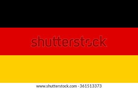 Germany Flag - stock vector