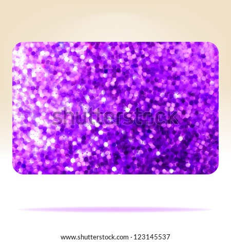 Gift ?ard template design. EPS 8 vector file included - stock vector