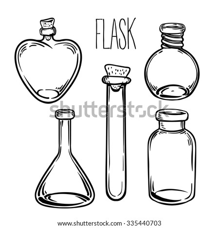 Science Beaker Cartoon 15533869 besides Clipart Empty Erlenmeyer Flask likewise Science Beaker Sketch Templates further Flask in addition File 1000 ml Erlenmeyer flask. on flask template