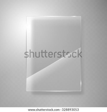 Glass framework design Vector - stock vector
