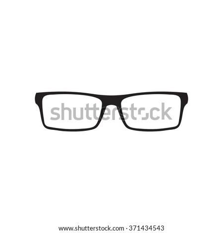 Glasses Icon / Glasses Icon Object / Glasses Icon Picture / Glasses Icon Image / Glasses Icon Graphic / Glasses Icon Art / Glasses Icon JPG / Glasses Icon JPEG / Glasses Icon EPS / Glasses Icon AI - stock vector