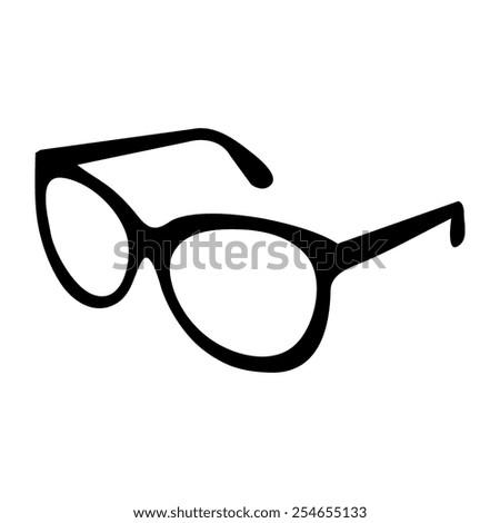 Glasses Frames Vector : Wayfarer Stock Vectors & Vector Clip Art Shutterstock