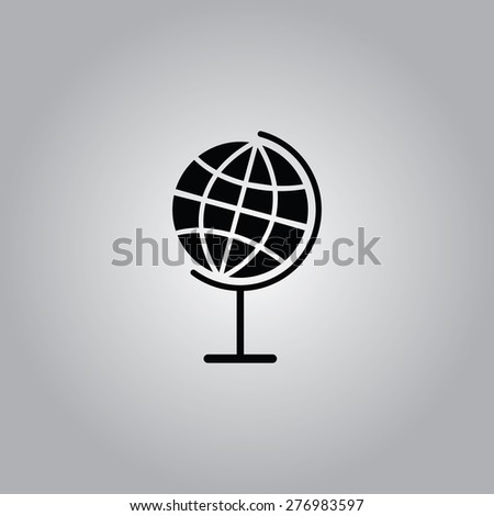 Globe Icon. - stock vector