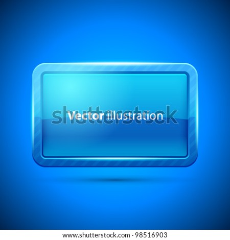 Glossy Display Screen vector background. Eps 10 for your business website. - stock vector