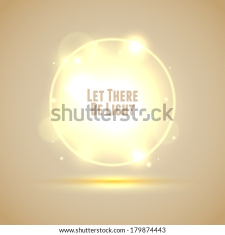 Glowing Energy background. Vector Eps10 - stock vector