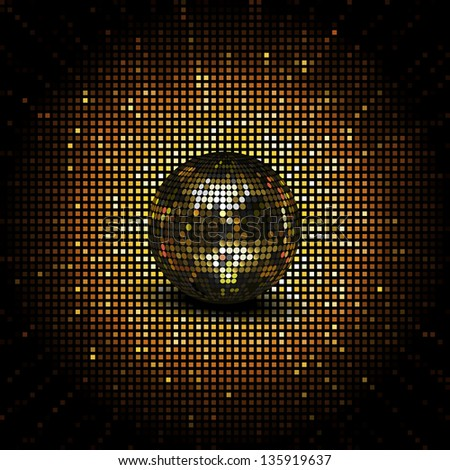 Stock Images similar to ID 140854984 - disco abstract ...