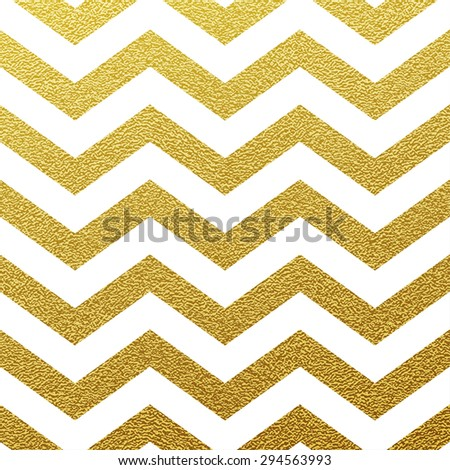 Gold glittering zigzag wave backgrouns - stock vector