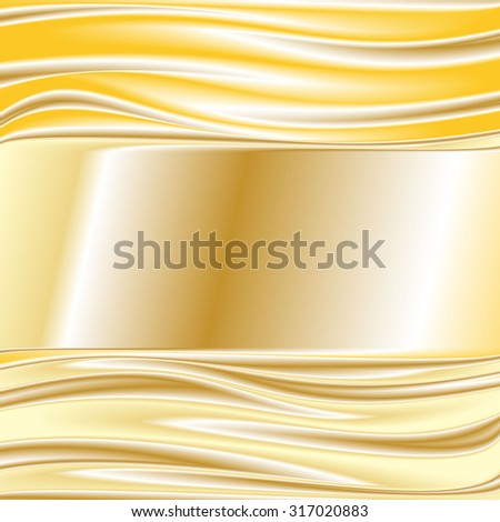 gold metal texture background Vector  image 4 - stock vector