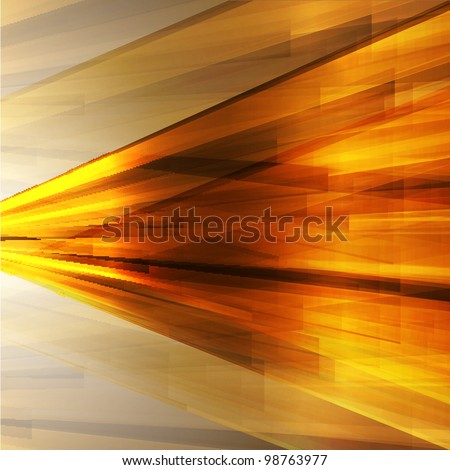 Golden abstract background for design.Vector eps10 - stock vector