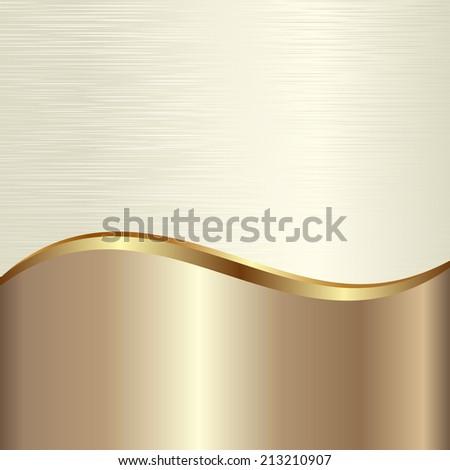 golden textured background - stock vector