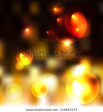 Golden vector background. - stock vector