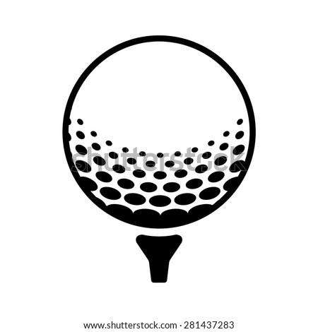 golfball stock vectors amp vector clip art shutterstock