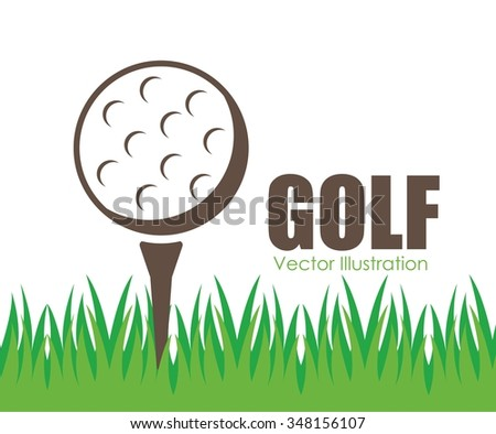 golf club design, vector illustration eps10 graphic  - stock vector