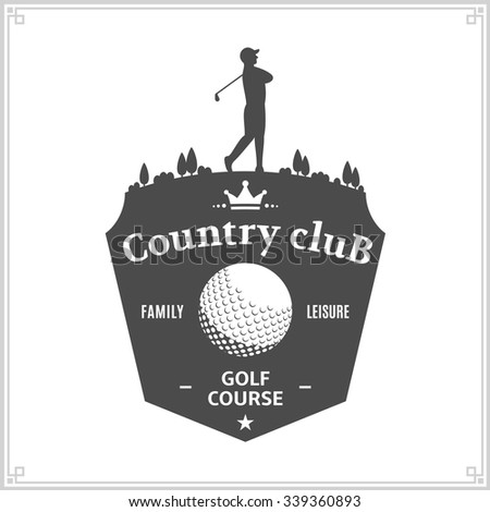 Golf Logo Stock Photos, Images, & Pictures   Shutterstock