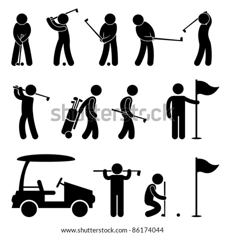 Golf symbol Stock Photos, Images, & Pictures | Shutterstock
