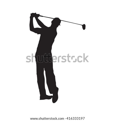 Golf Player Silhouette, Golf Player Poster, Golf Player EPS, Golf Player Trend, Golf Player Vector, Golf Player Design, Golf Player New, Golf Player Web, Golf Player Art, Golf Player, Golf Player Draw - stock vector